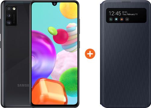 Samsung Galaxy A41 64 Go Noir + Samsung S View Book Case Noir Main Image