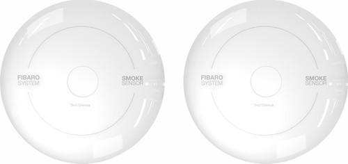 Fibaro Smoke Sensor (Werkt met Toon) Duo Pack Main Image