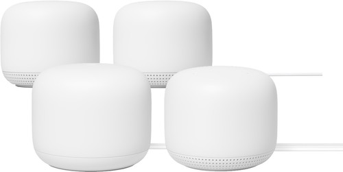Google Nest Wifi Wit 4-Pack Multiroom wifi Main Image