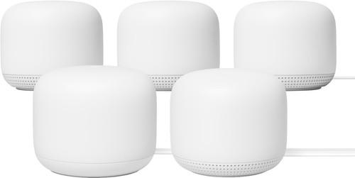 Google Nest Wifi Wit 5-Pack Multiroom wifi Main Image