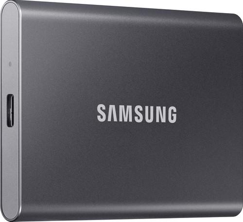 Samsung T7 Portable SSD 1TB Gray Main Image