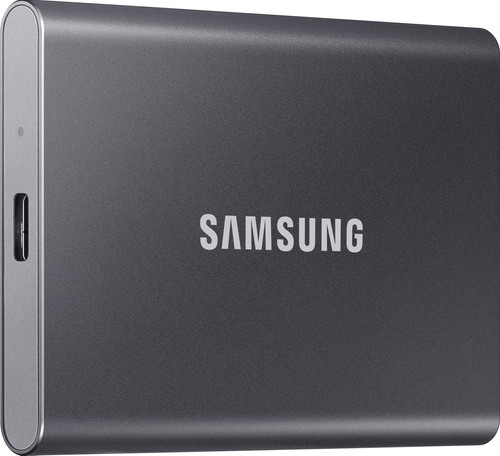 Samsung T7 Portable SSD 2 To Gris Main Image