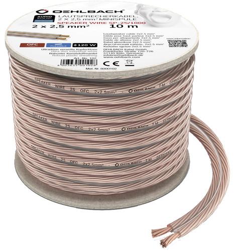 Oehlbach Loudspeaker cable (2 x 2.5 mm) 10 meters Main Image