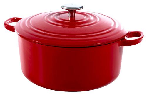 BK Bourgogne Dutch Oven 24 cm Chili Red Main Image