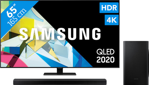 Samsung QLED 65Q80T + Soundbar Main Image