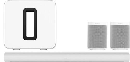 Sonos Arc 5.1 + Sub + One Lot de 2 Blanc Main Image