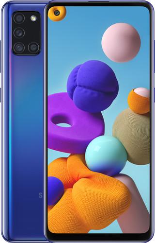 Samsung Galaxy A21s 64GB Blauw Main Image