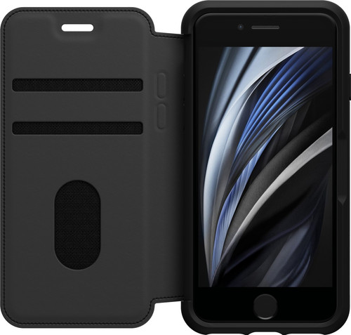 OtterBox Strada Apple iPhone SE 2/8/7/6/6s Book Case Black Main Image