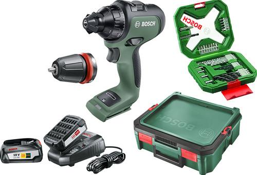 Bosch AvancedDrill 18V + accessoires + Systembox Main Image