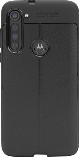 Just in Case Soft Design Motorola Moto G8 Power Back Cover Zwart Main Image