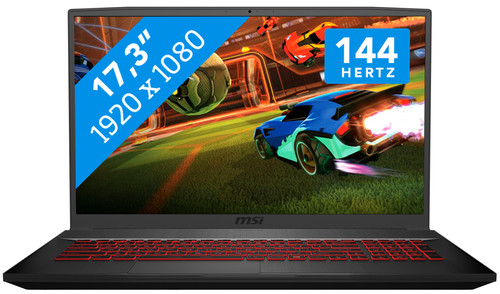 MSI GF75 10SCXR-243BE Azerty Main Image