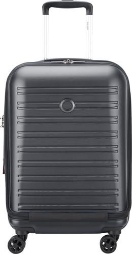 Delsey Segur 2.0 Business Front Pocket Spinner 55cm Black Main Image
