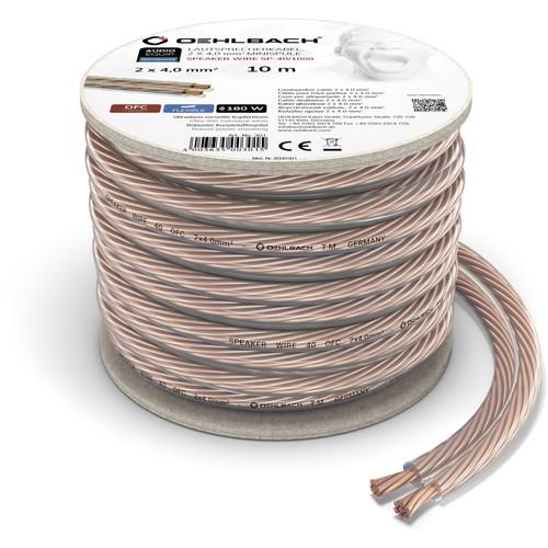 Oehlbach Loudspeaker cable (2 x 4 mm) 10 meters Main Image