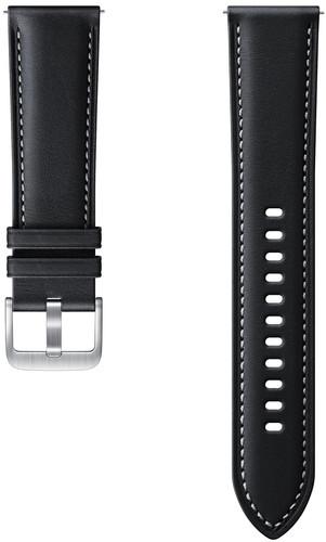 Samsung Galaxy Watch3 45mm Leather Strap Black 22mm Main Image