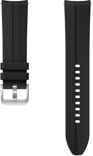 Samsung Galaxy Watch3 45mm Silicone Strap Black 22mm Main Image
