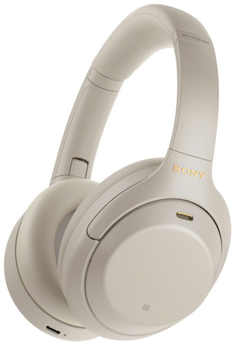 Sony WH-1000XM4 Silver Main Image
