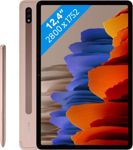 Samsung Galaxy Tab S7 Plus 128 Go Wi-Fi Bronze Main Image