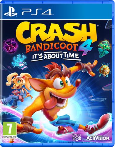 Crash Bandicoot 4: It's About Time PS4 Main Image
