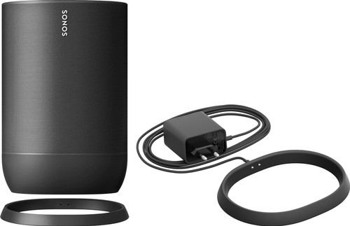 Sonos Move + Extra Charging Dock Black Main Image