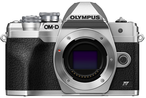 Olympus OM-D E-M10 Mark IV Body Zilver Main Image