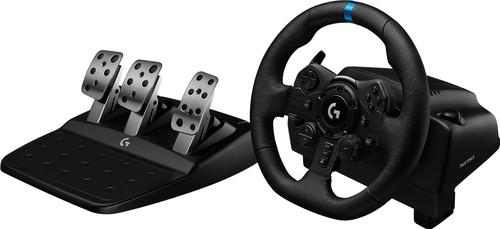 Logitech G923 TRUEFORCE - Racestuur met Force Feedback voor PlayStation 5, PS4 & PC Main Image