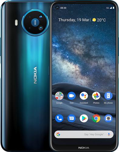 Nokia 8.3 64GB Blauw 5G Main Image