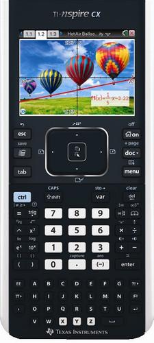 Texas Instruments TI-Nspire CX Main Image
