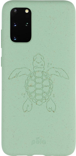 Pela Eco Friendly Samsung Galaxy S20 Plus Back Cover Blue (Turtle Edition) Main Image
