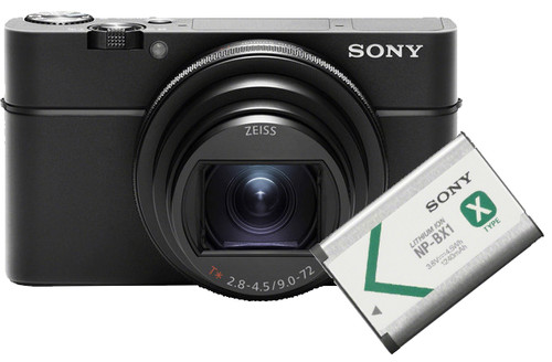 Sony CyberShot DSC-RX100VI + Sony NP-BX1 Accu Main Image