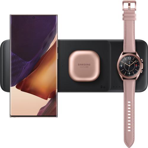 Samsung Trio Draadloze Oplader 9W Zwart Main Image