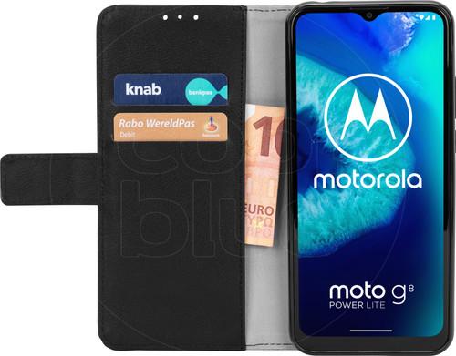 Just in Case Wallet Motorola Moto G8 Power Lite Book Case Zwart Main Image