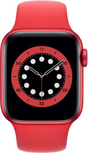 Apple Watch Series 6 40mm RED Aluminium RED Sportband Main Image