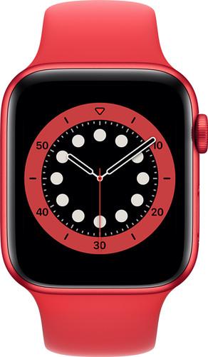 Apple Watch Series 6 44mm RED Aluminium RED Sportband Main Image