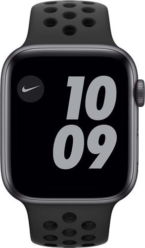 Apple Watch Nike SE 44mm Space Gray Aluminium Zwarte Sportband Main Image