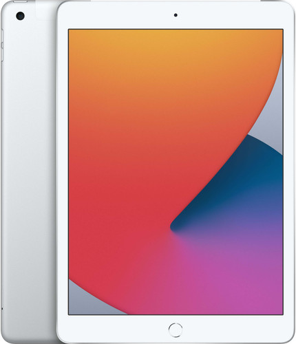 Apple iPad (2020) 10,2 pouces 128 Go Wi-Fi + 4G Argent Main Image