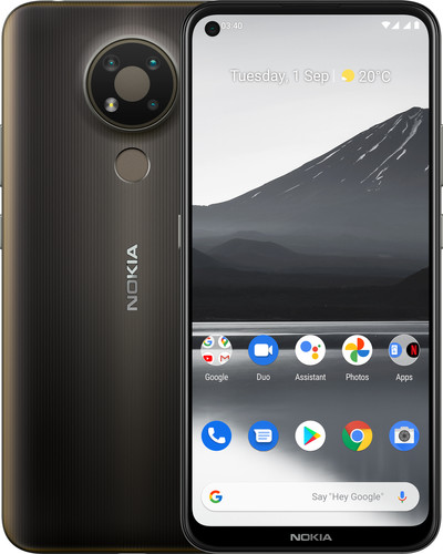 Nokia 3.4 32 GB Grijs Main Image