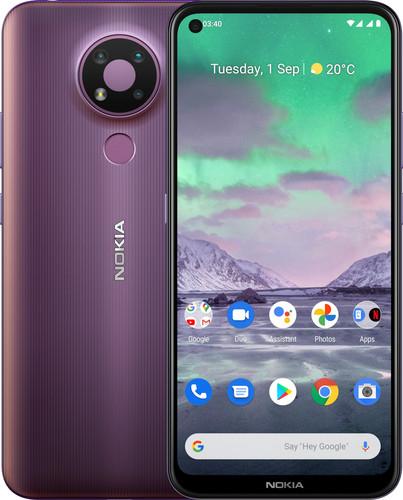 Nokia 3.4 32 GB Paars Main Image