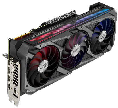 Asus GeForce RTX 3090 ROG Strix Gaming OC 24G Main Image