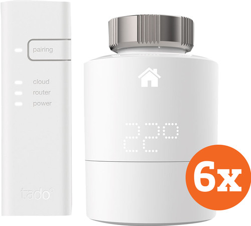 Tado Slimme Radiator Thermostaat Starter 6-Pack Main Image