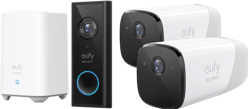 Eufy by Anker Eufycam 2 Duo Pack + Video Doorbell Battery Main Image