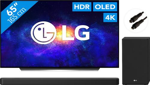 LG OLED65CX6LA (2020) + Soundbar + Optische kabel Main Image