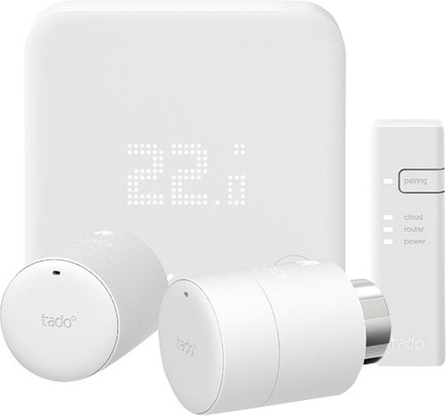 Tado Slimme Thermostaat V3+ + 2 thermostaatknoppen Main Image