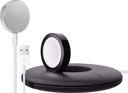 Apple Watch Magnetische Oplaadkabel usb A (1m) + Belkin Travel Stand Main Image