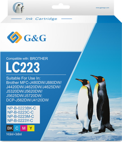 G&G LC-223 Cartouches Pack Combiné Main Image