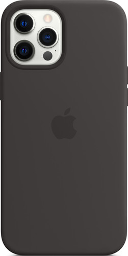 Apple iPhone 12 Pro Max Back Cover avec MagSafe Noir Main Image