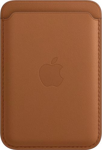 Apple Leren Kaarthouder voor iPhone met MagSafe Zadelbruin Main Image
