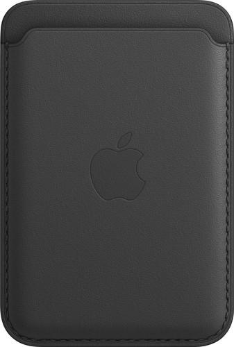 Apple Leren Kaarthouder voor iPhone met MagSafe Zwart Main Image