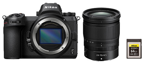Nikon Z6 + Nikkor Z 24-70 mm f/4 S + Carte mémoire XQD 64 Go Main Image