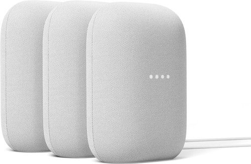 Google Nest Audio Chalk 3-Pack Main Image