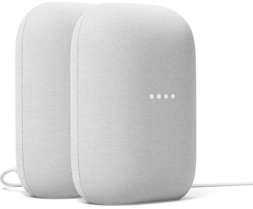 Google Nest Audio 2-Pack Chalk Main Image